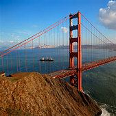 Golden Gate Bridge in San Francisco , California