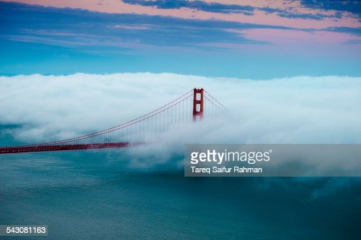 Golden Gate Bridge on Cloud
