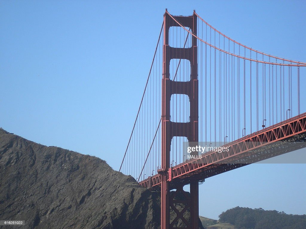 golden gate bridge : Stock Photo