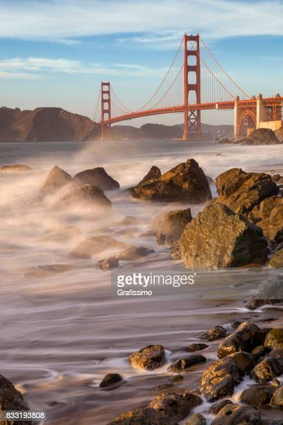 Golden Gate Bridge San Francisco Panorama Langzeitbelichtung