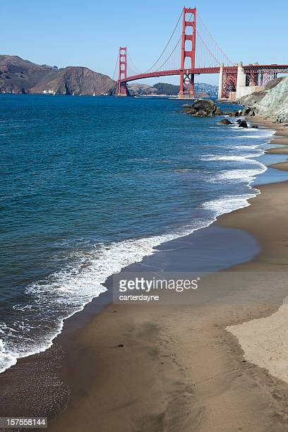 Golden Gate Bridge, Scenes of San Francisco, California, USA