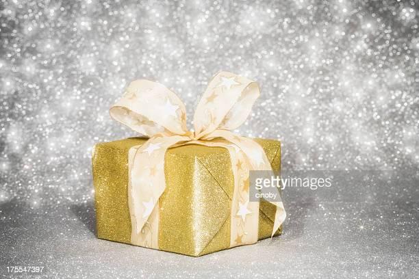 Golden Gift Box