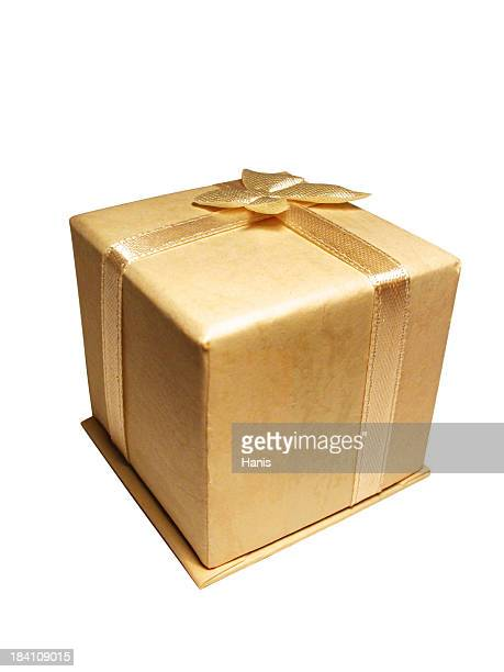 Golden giftbox