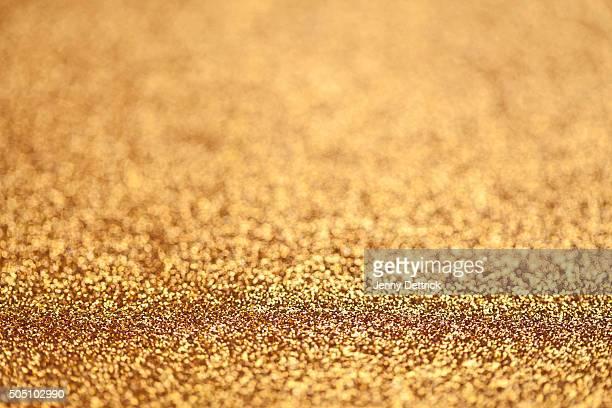 Golden glitters background