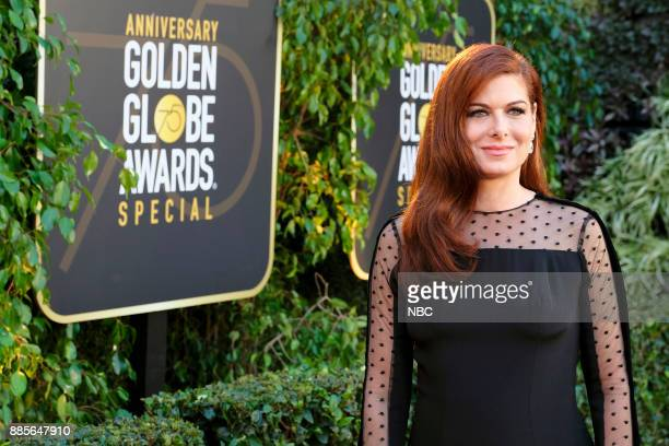 AWARDS Golden Globe Awards 75th Anniversary Special Pictured Debra Messing