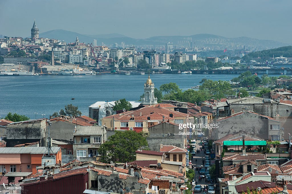 Golden Horn towards Fener : Stock Photo