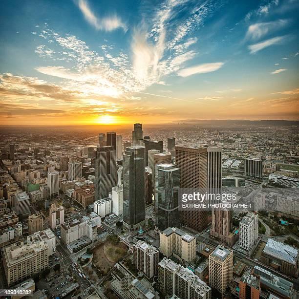 Golden hora en Los Ángeles