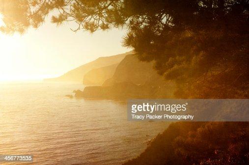 Golden Hour on the Big Sur Coastline.