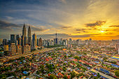 Golden | Kuala Lumpur | HDR