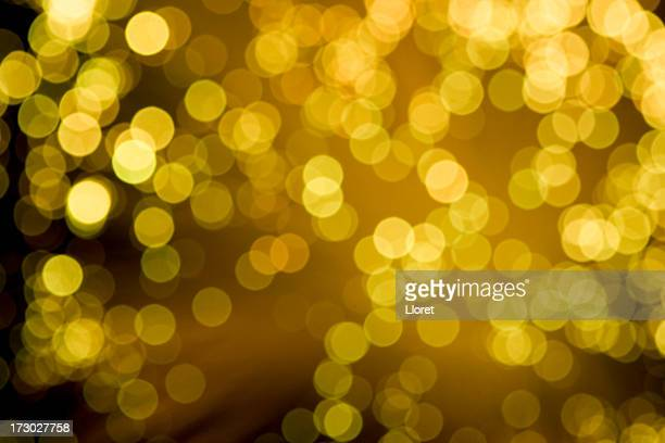 Fond de lumières or