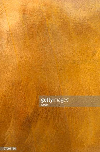 Golden metal plate mottled brass background XL