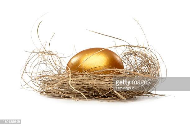 Golden nest egg