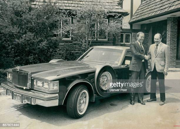 MAY 16 1980 MAY 17 1980 'Golden Opportunity' Initial winner in a sixweek 'Golden Opportunity' contest by Denver Metro Cadillac Dealers is Jim Gordon...
