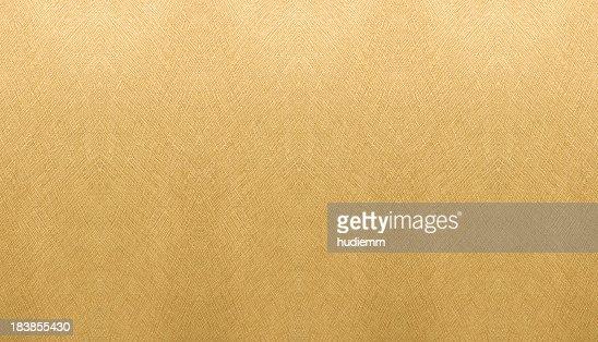 Golden Paper background textured