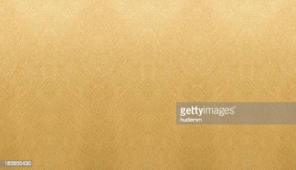 Golden Paper background textured