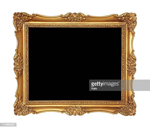 Golden Picture Frame or Mirror