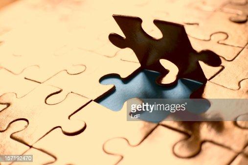 ゴールドのパズル
