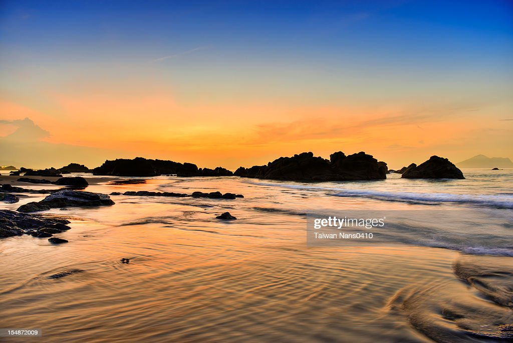 Golden reflection : Stock Photo