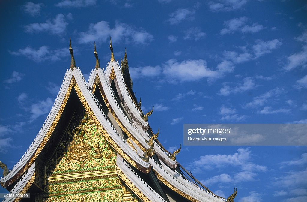 Golden Roof of Temple : Stock Photo