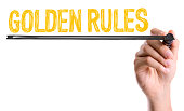 Golden Rules sign