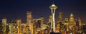 Golden Seattle Night