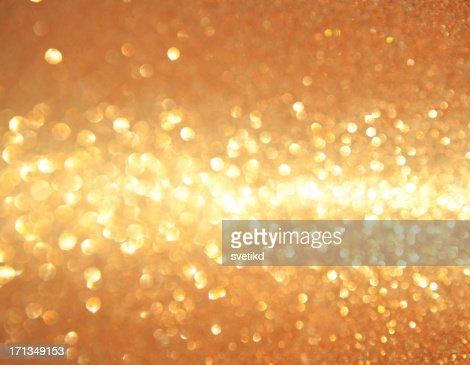 Golden shiny lights.