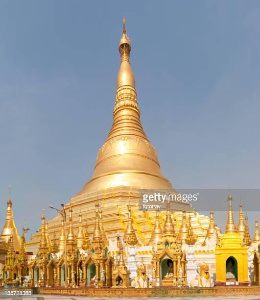 Golden Shwedagon Pagoda, Myanmar