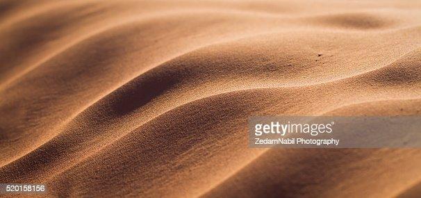 Golden Silky Sahara Sand Dunes