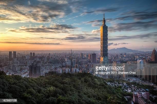 Golden Skyscrapers