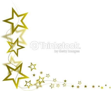 Golden Star Frame Stock Photo   Thinkstock