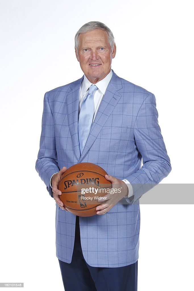 Golden State Warriors Executive Board Member Jerry West poses for a portrait during 2013 NBA Media Day on September 27 2013 in Oakland California...