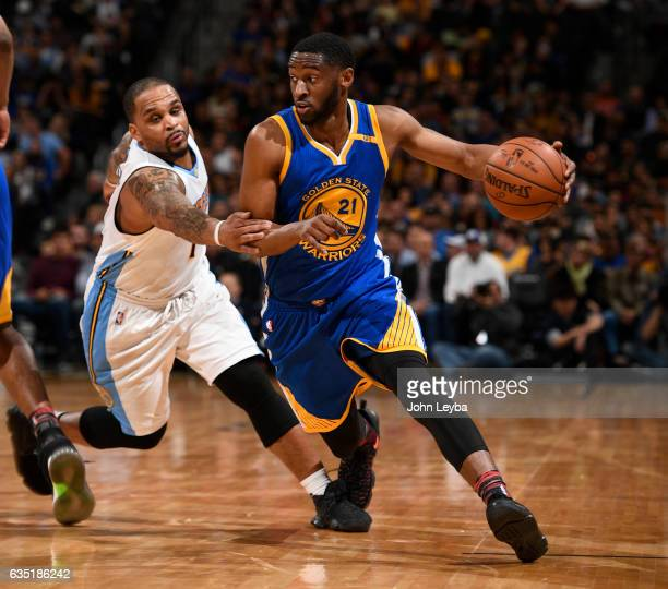 Denver Nuggets X Golden State Warriors: Ian Clark Basketball Player Stock Photos And Pictures