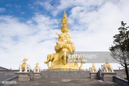 Golden summit temple, EMeiShan, SiChuan, China