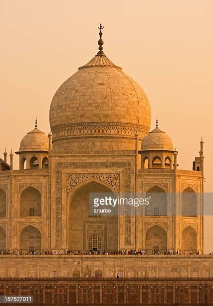 golden Taj Mahal roof vertical