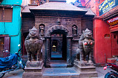 Golden Temple, Patan,  Kathmandu, Nepal, Asia
