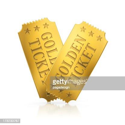 ゴールドのチケット