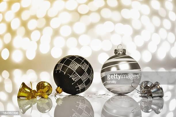 Golden vs. Silver Décoration de Noël