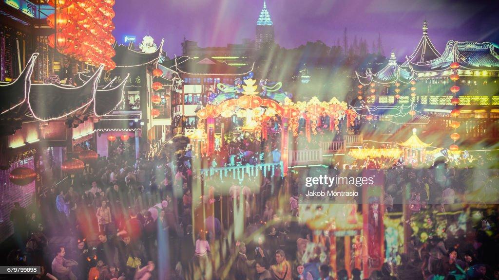 Golden Week Madness : Stock Photo