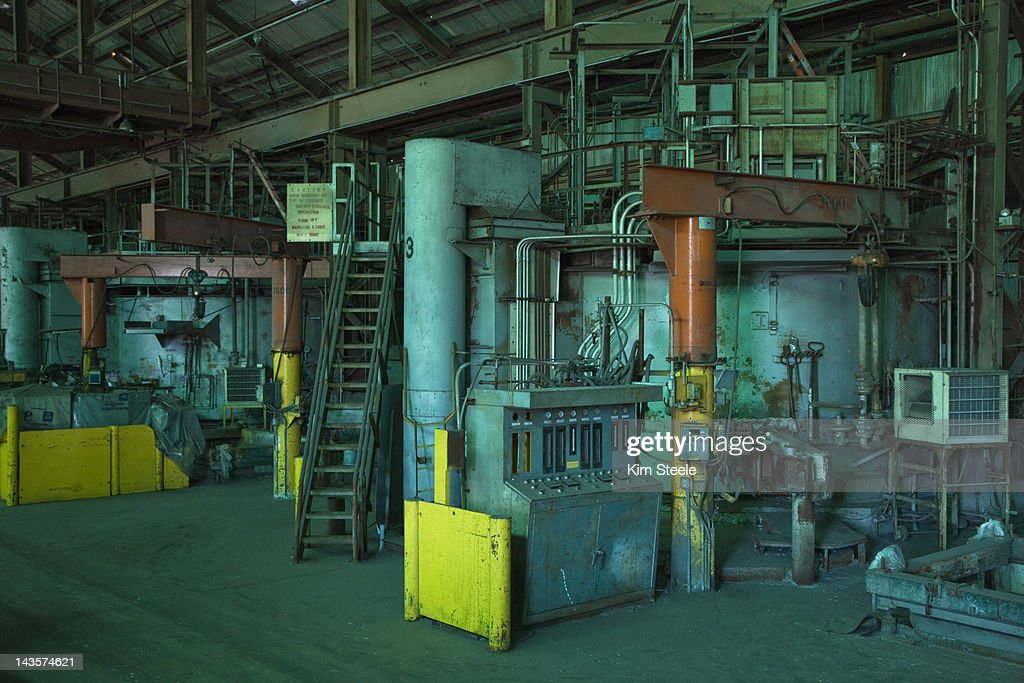 Goldendale Aluminum Smelting Facility : Stock Photo