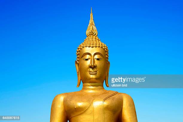 Goldener Buddha Porträt