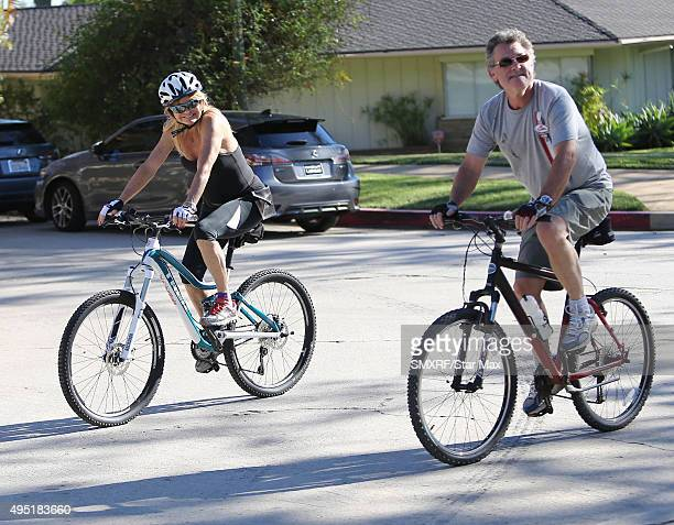 Goldie Hawn and Kurt Russell are seen on October 31 2015 in Los Angeles California