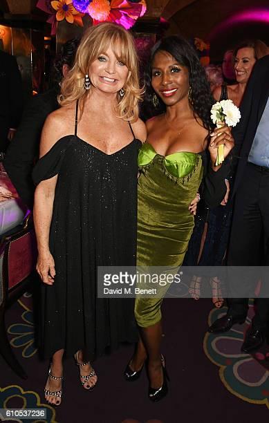 Goldie Hawn and Sinitta attend 'Goldie's LoveIn For The Kids' the 5th annual fundraising dinner hosted by Goldie Hawn in aid of The Hawn Foundation...