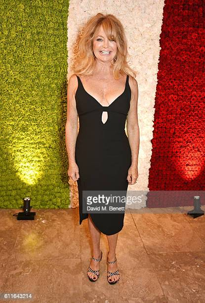 Goldie Hawn attends a VIP preview of the new site for Annabel's 46 Berkeley Square on September 30 2016 in London England