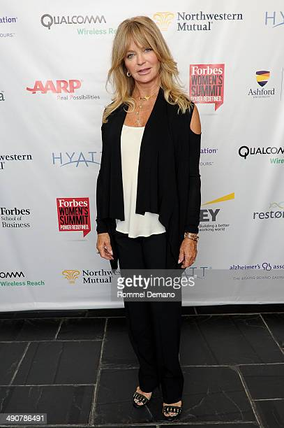 Goldie Hawn attends Forbes Women's SummitThe Entrepreneurship of Everything at 583 Park Avenue on May 15 2014 in New York City