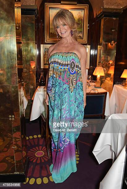 Goldie Hawn attends 'Goldie's LoveIn For The Kids' the 4th annual Hawn Foundation UK fundraising dinner hosted by Goldie Hawn and Kate Hudson...
