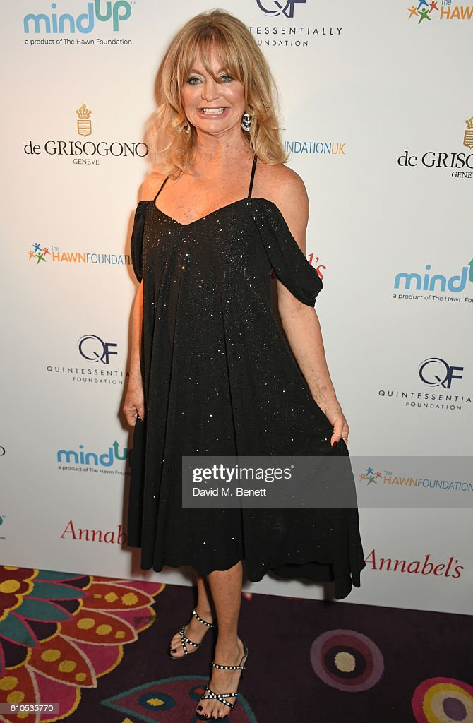 'Goldie's Love-In For The Kids' In Aid Of The Hawn Foundation UK At Annabel's, Produced By The Quintessentially Foundation