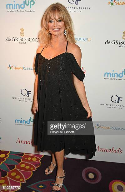 Goldie Hawn attends 'Goldie's LoveIn For The Kids' the 5th annual fundraising dinner which she hosted in aid of The Hawn Foundation UK with de...
