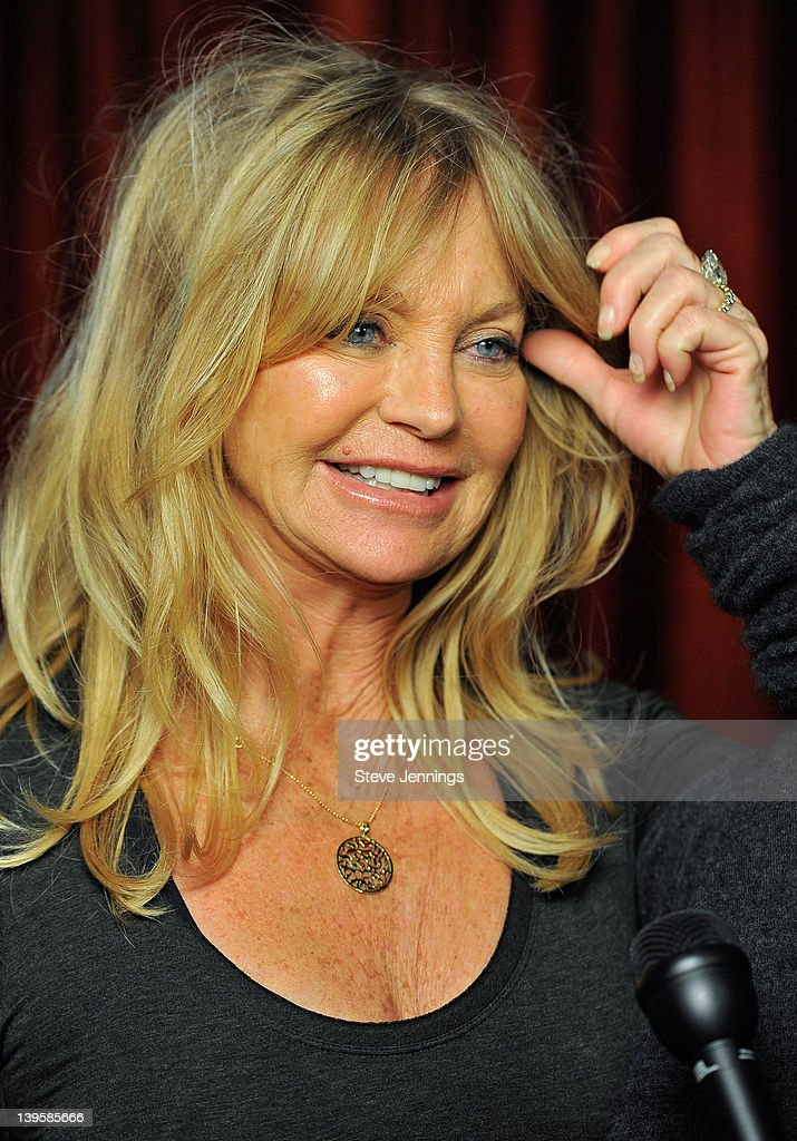 Goldie Hawn attends the 3rd Annual TechFellow Awards at SF MOMA on February 22, 2012 in San Francisco, California.