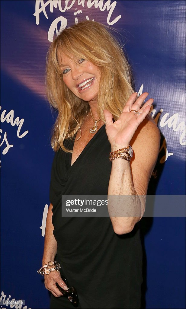 Goldie Hawn attends the Broadway Opening Night Performance of 'An American in Paris' at The Palace Theatre on April 12, 2015 in New York City.