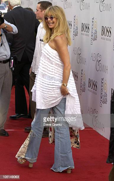 Goldie Hawn during 'Alex Emma' World Premiere Hollywood at Mann's Chinese Theatre in Hollywood California United States